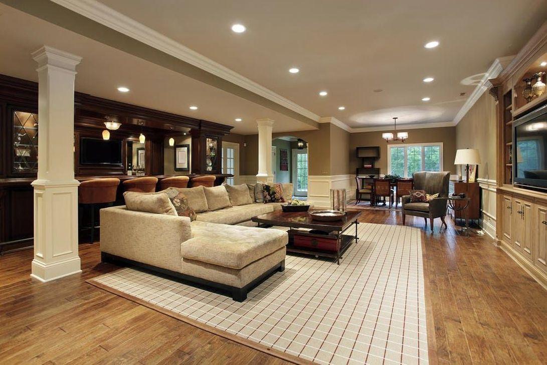 Gorgeous Basement Living Room Ideas You Definitely Like 06
