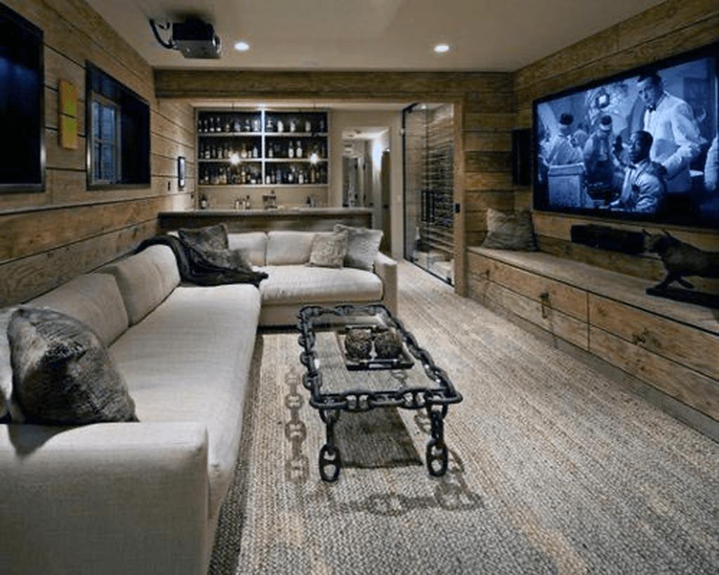 Gorgeous Basement Living Room Ideas You Definitely Like 08