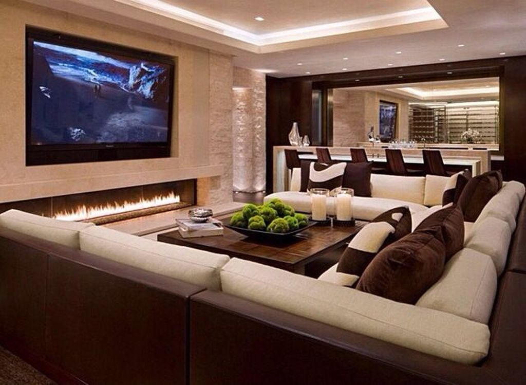 Gorgeous Basement Living Room Ideas You Definitely Like 12