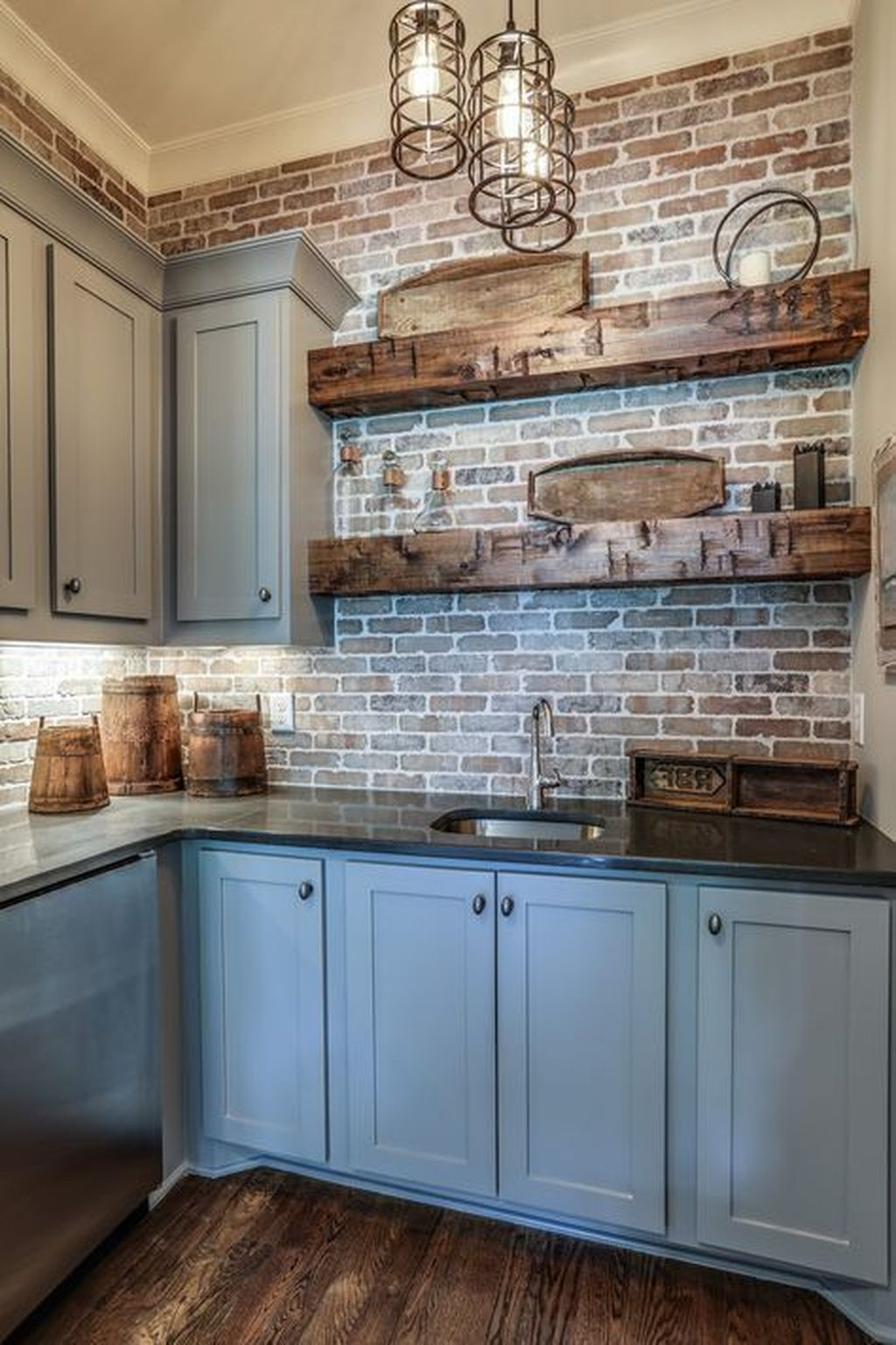 Gorgeous Kitchen Shelves Ideas You Must Have 27