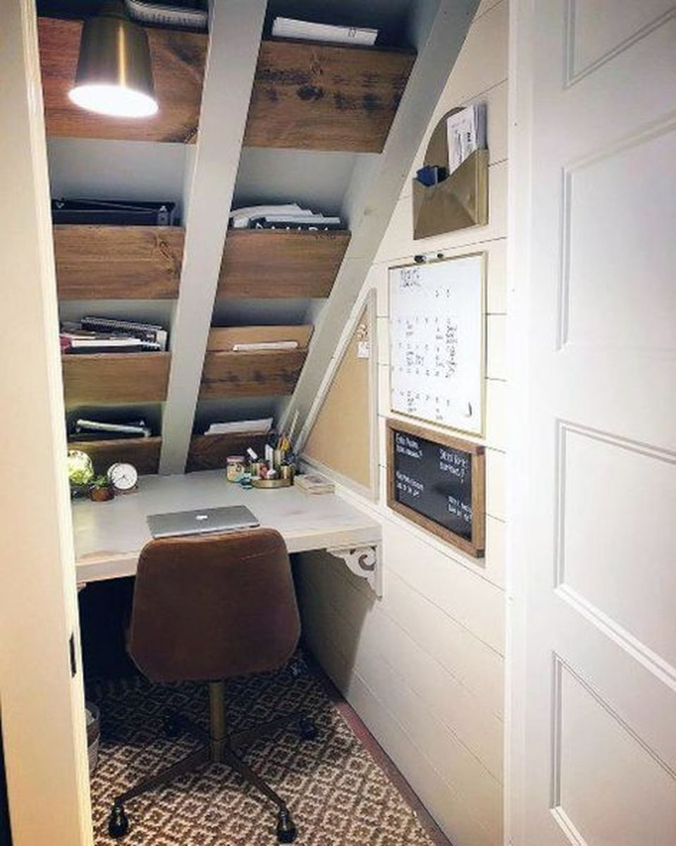Inspiring Small Office Ideas For Small Space 02