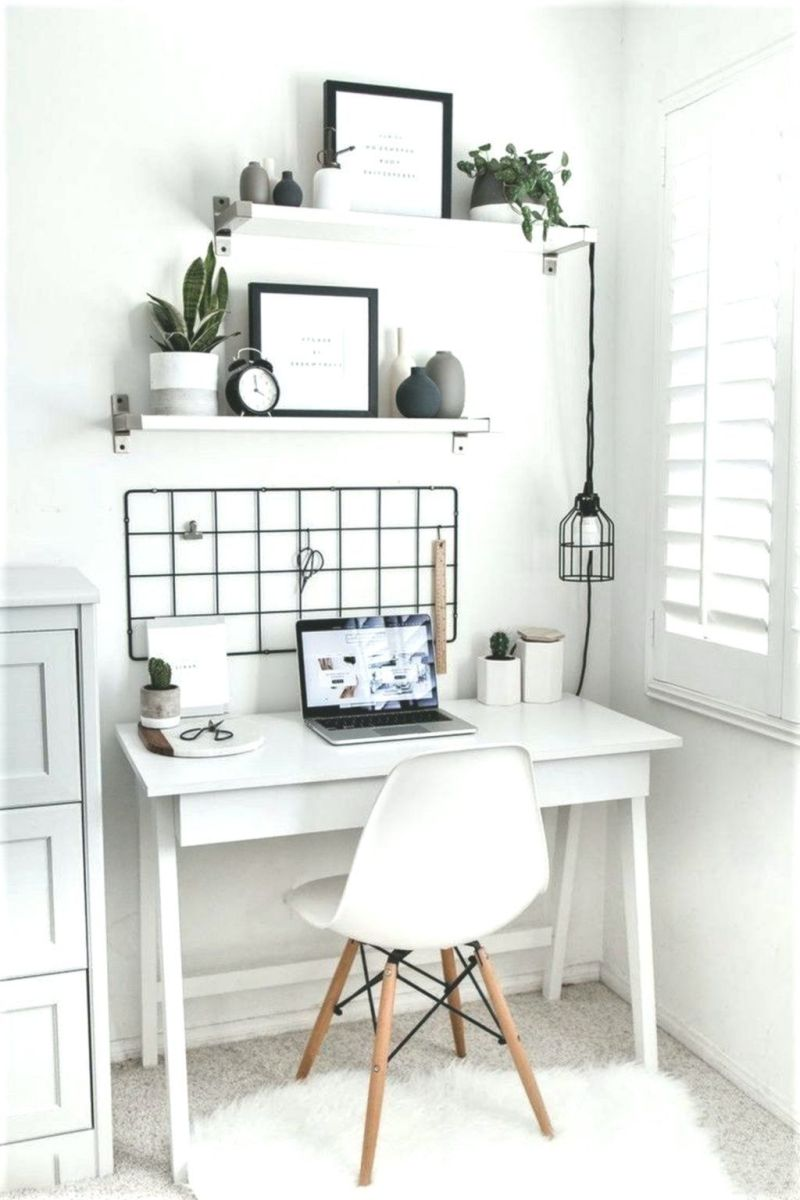 Inspiring Small Office Ideas For Small Space 36