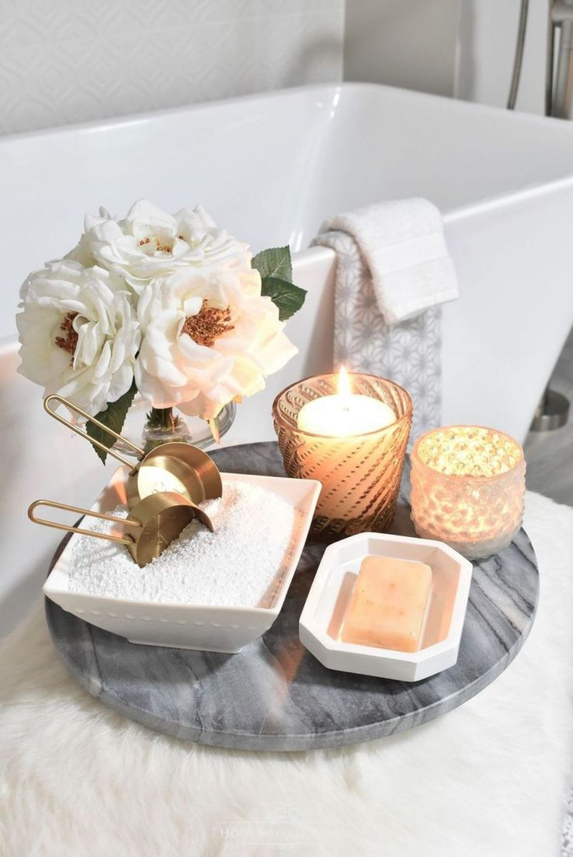 Inspiring Spa Bathroom Decor Ideas 09