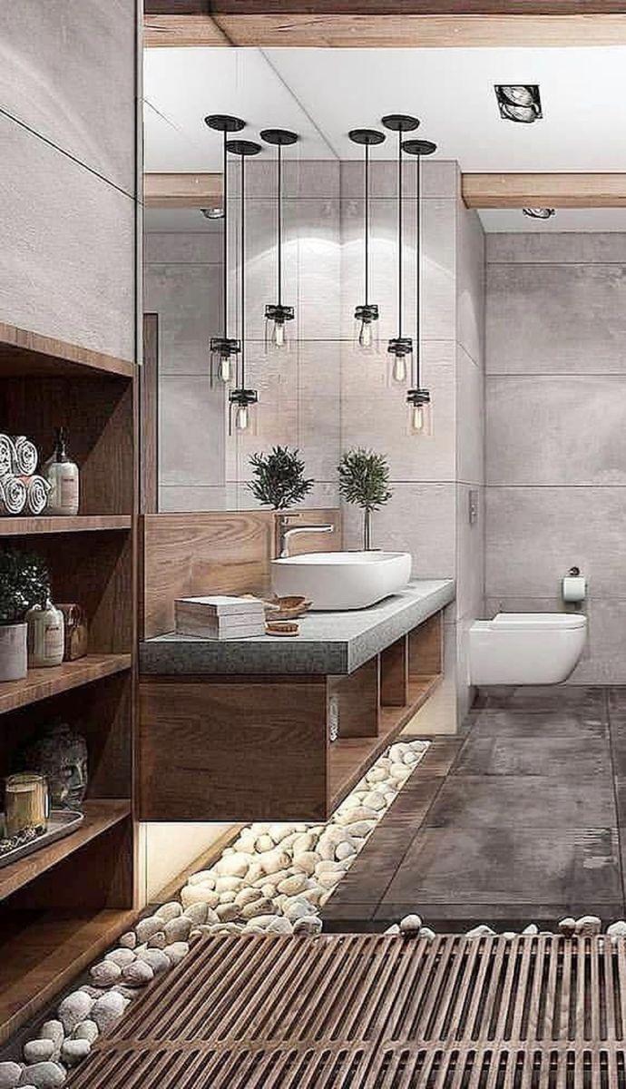Inspiring Spa Bathroom Decor Ideas 23