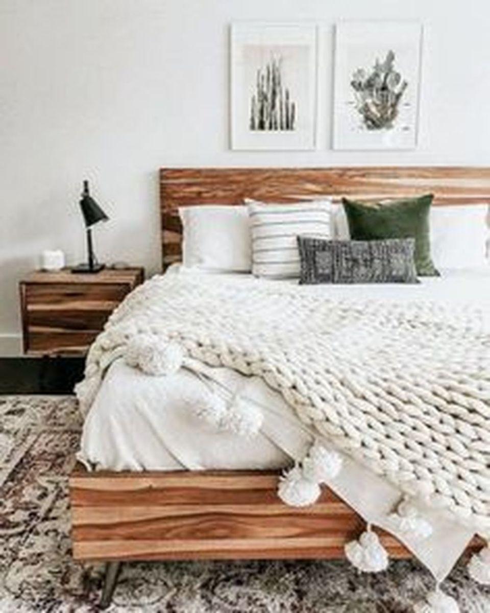 Lovely Rustic Bedroom Design Ideas 29