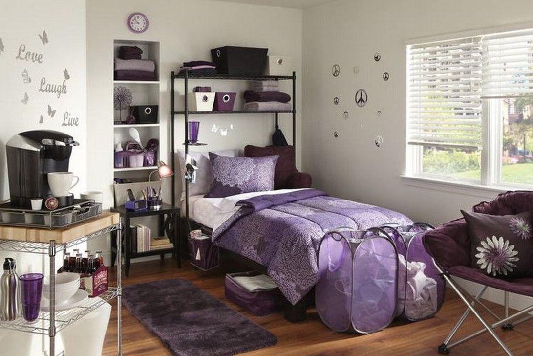 Nice Simple Dorm Room Decor You Should Copy 24