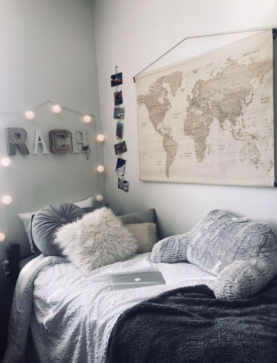 Nice Simple Dorm Room Decor You Should Copy 28