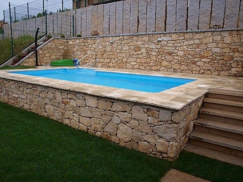 Stunning Backyard Pool Landscaping Ideas 09