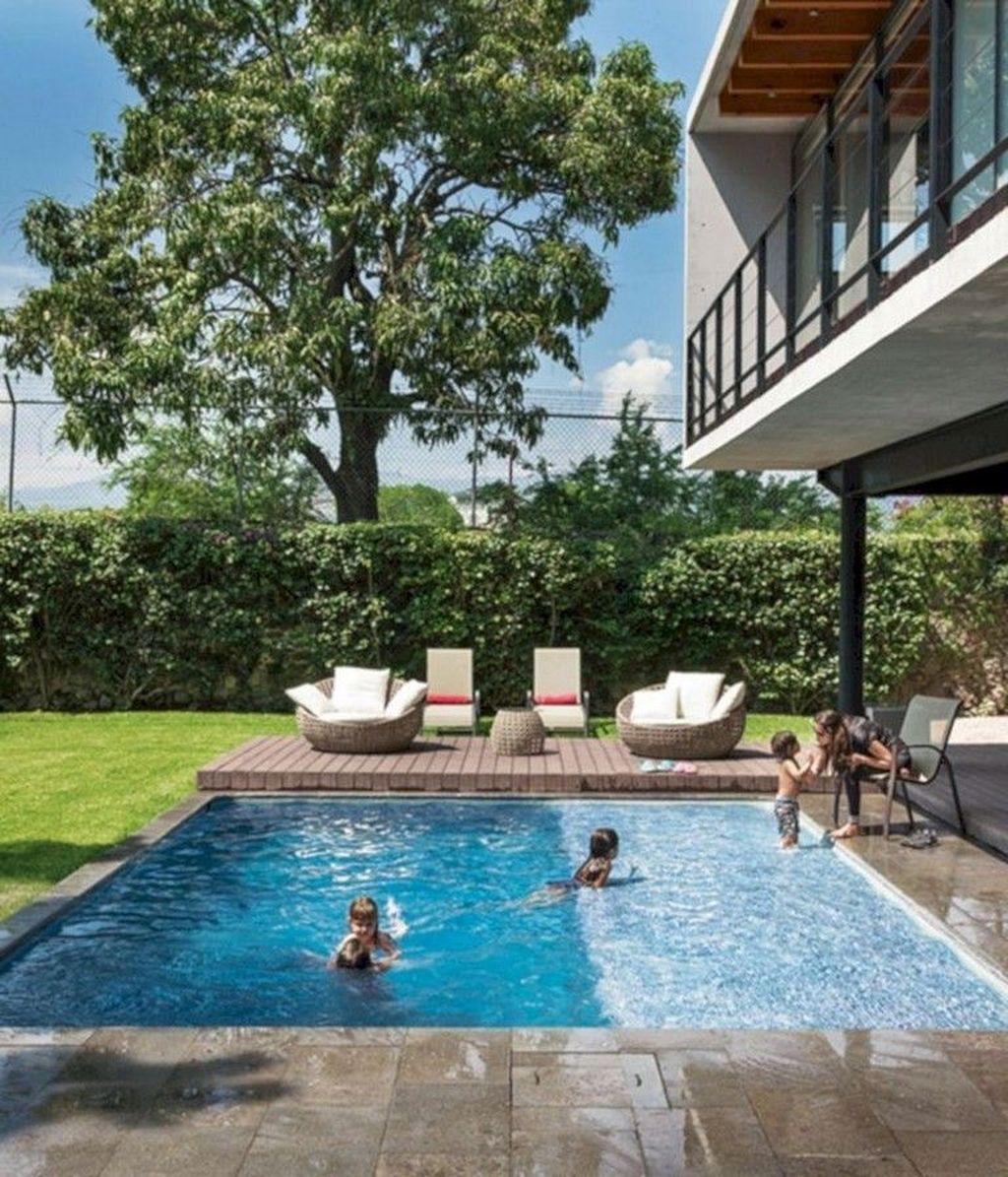Stunning Backyard Pool Landscaping Ideas 10