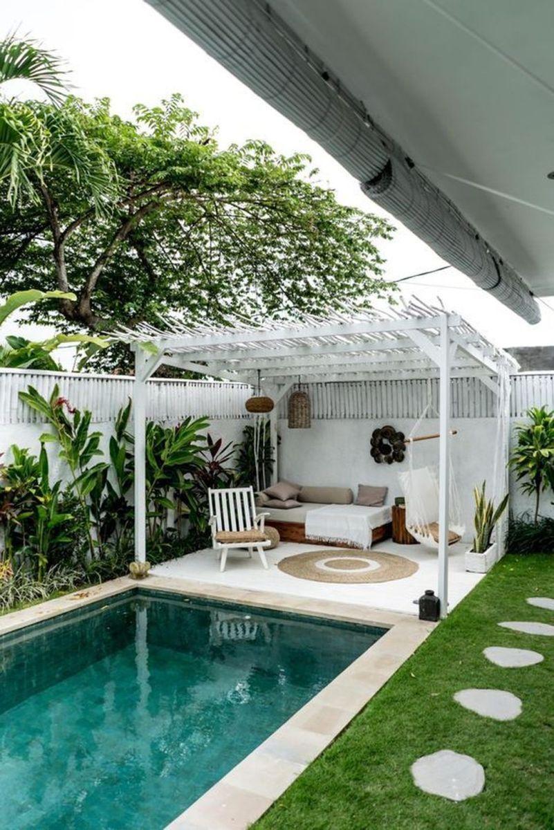 Stunning Backyard Pool Landscaping Ideas 20