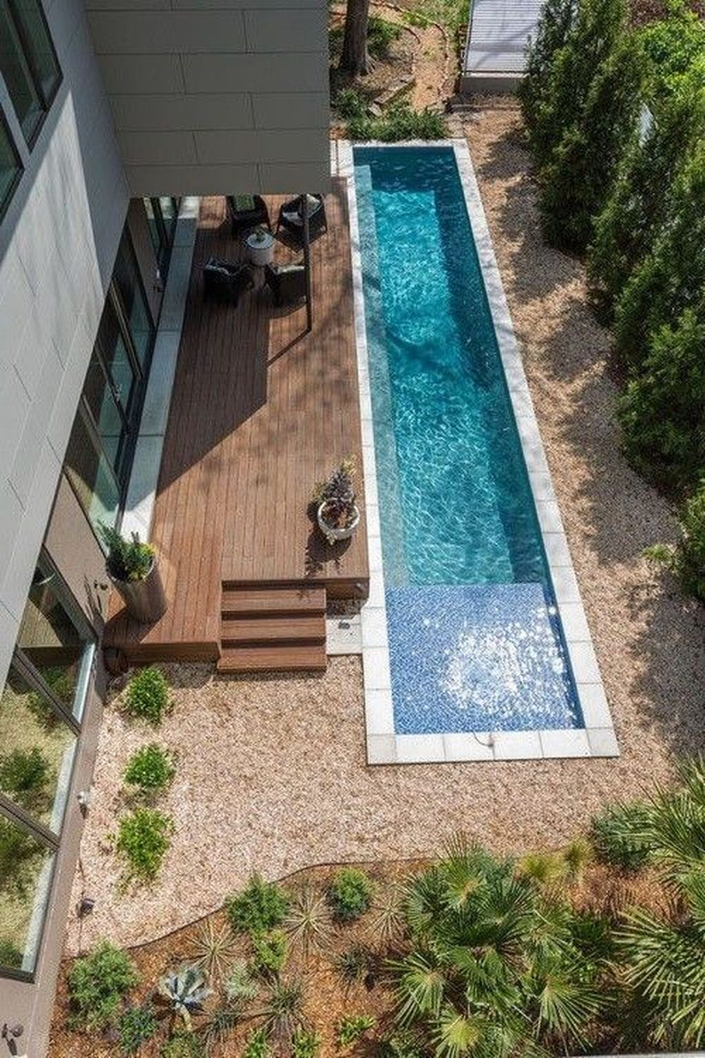 Stunning Backyard Pool Landscaping Ideas 24