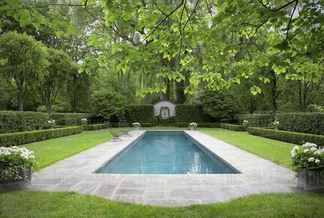Stunning Backyard Pool Landscaping Ideas 29
