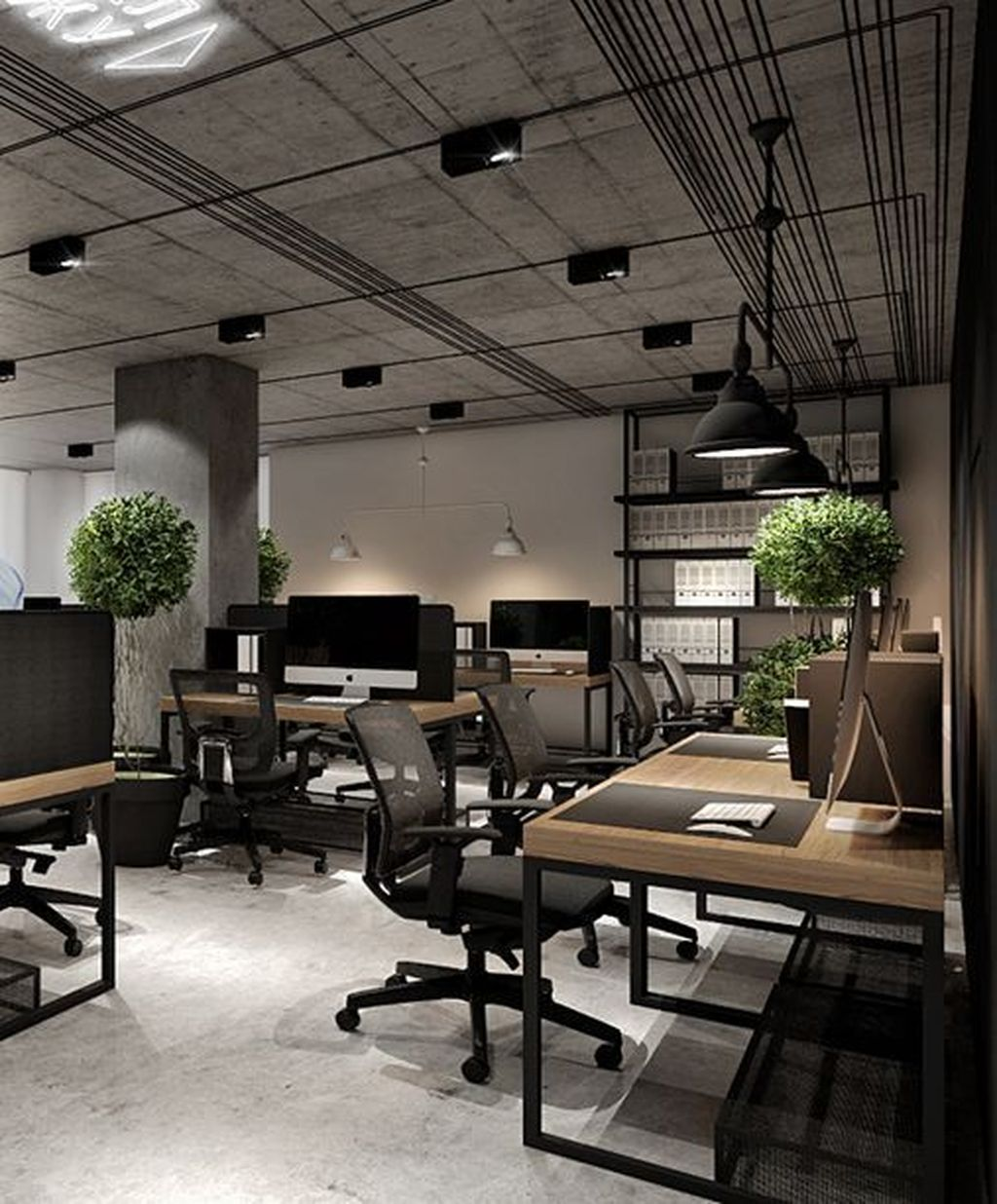 Stunning Contemporary Office Design Ideas 06