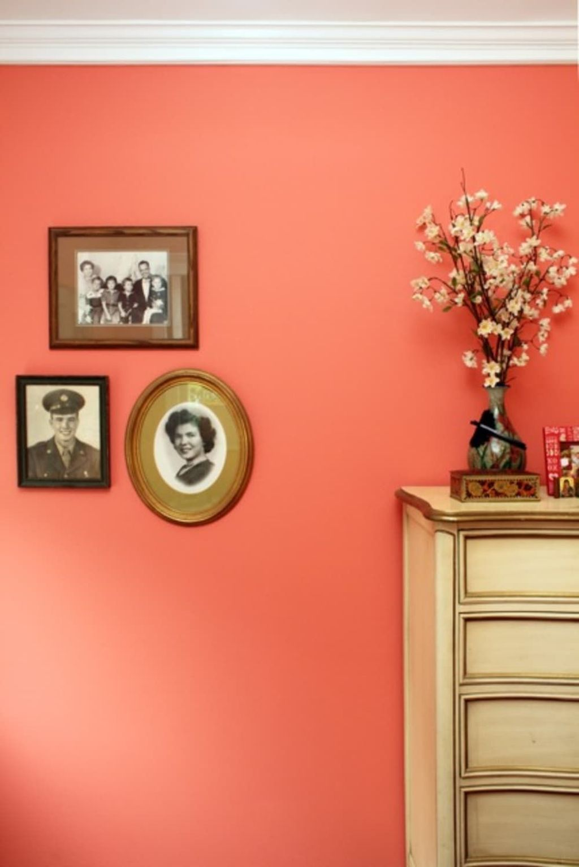 Affordable Coral Color Bathroom Decor Ideas 25