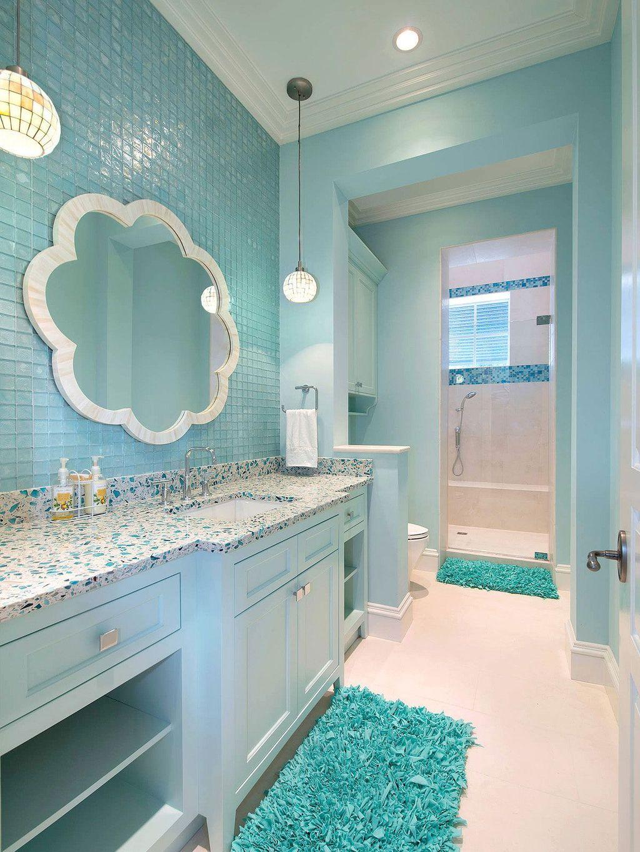 Affordable Coral Color Bathroom Decor Ideas 26