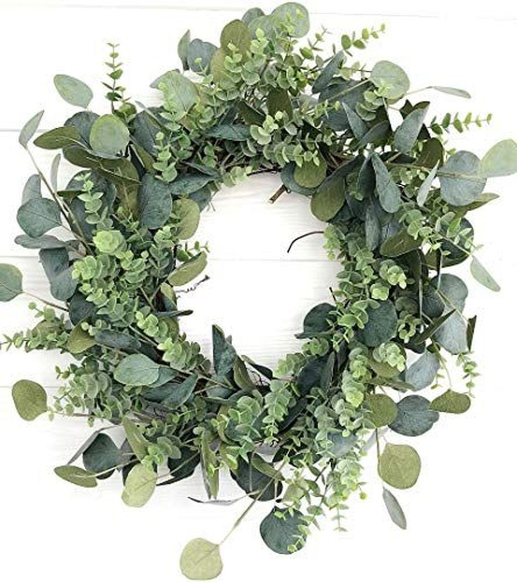 Awesome Spring Wreath Ideas For Front Door Decor 13