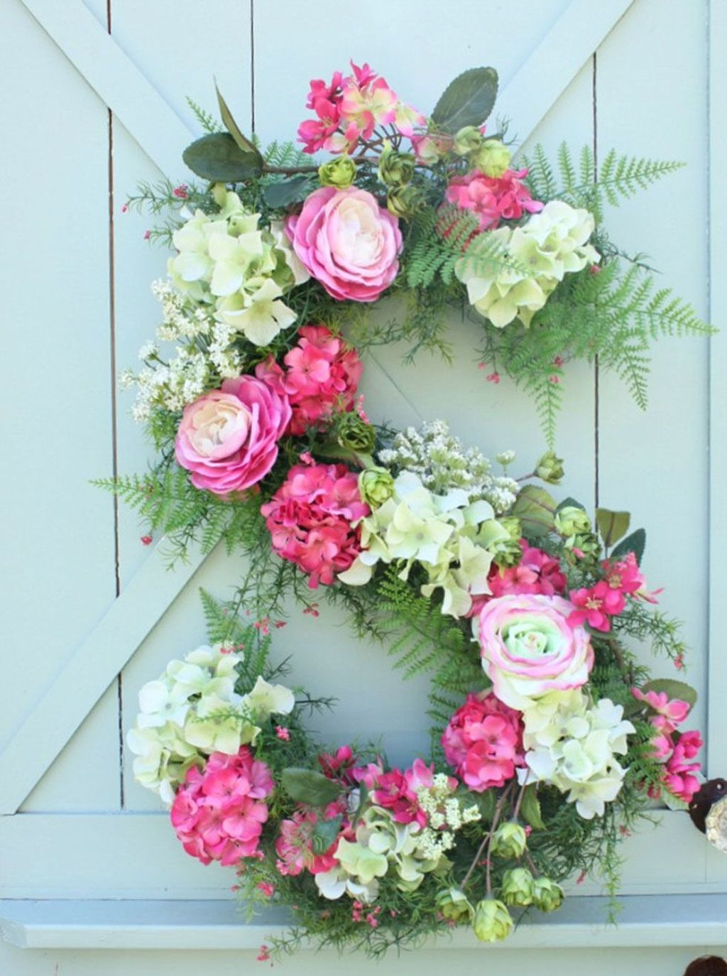 Awesome Spring Wreath Ideas For Front Door Decor 16
