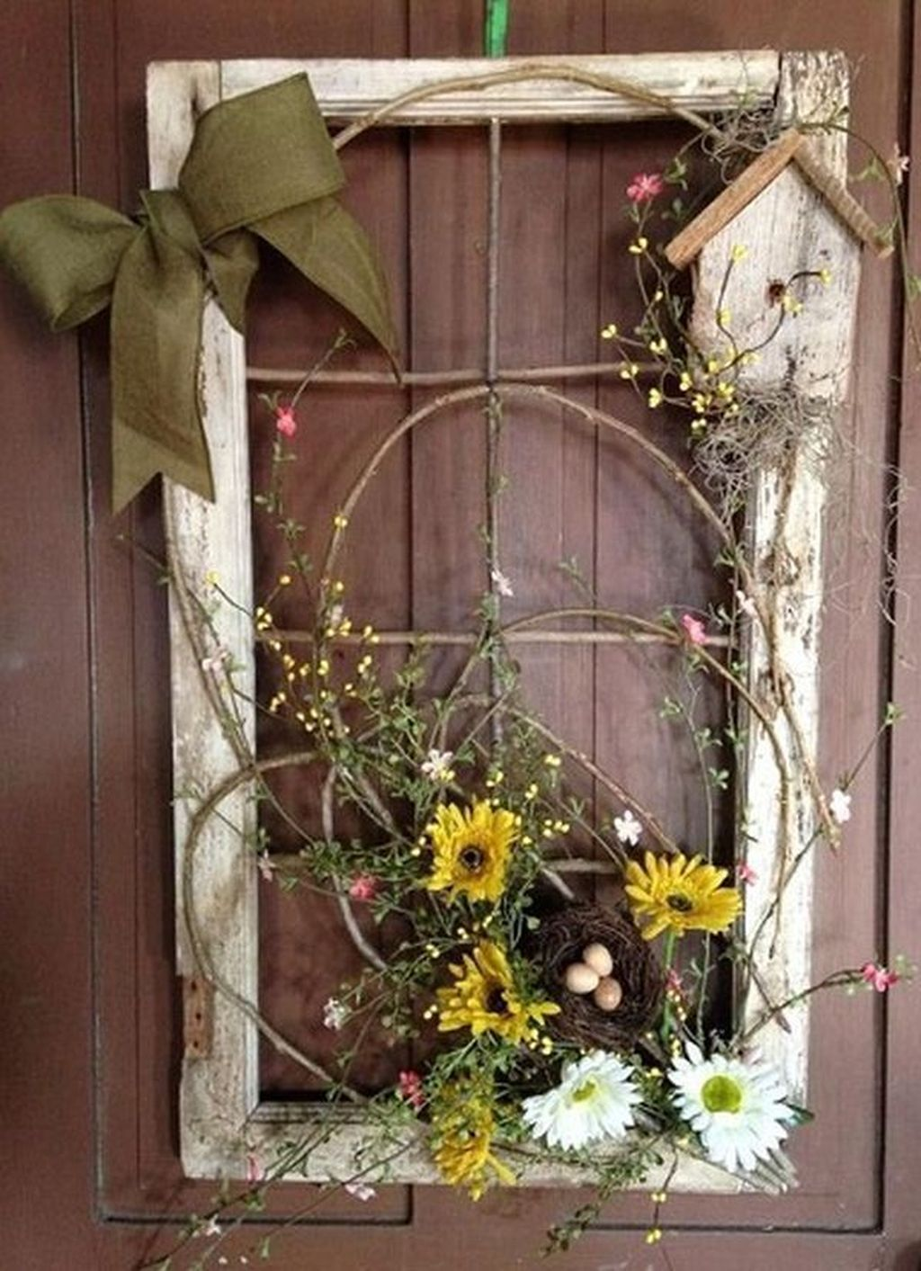 Awesome Spring Wreath Ideas For Front Door Decor 17
