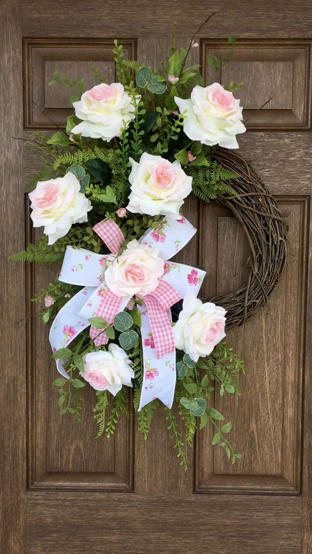 Awesome Spring Wreath Ideas For Front Door Decor 25
