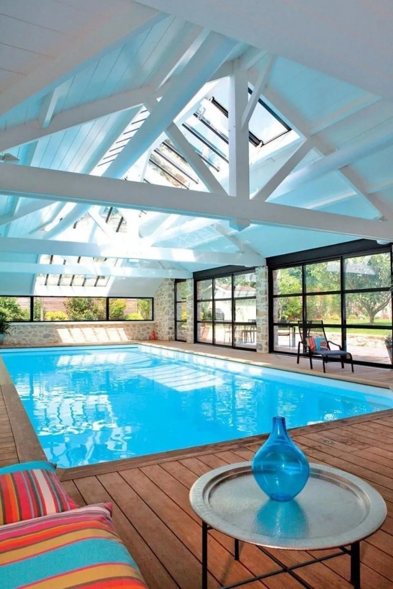 Beautiful Modern Indoor Pool Design Ideas You Must Have 03 1