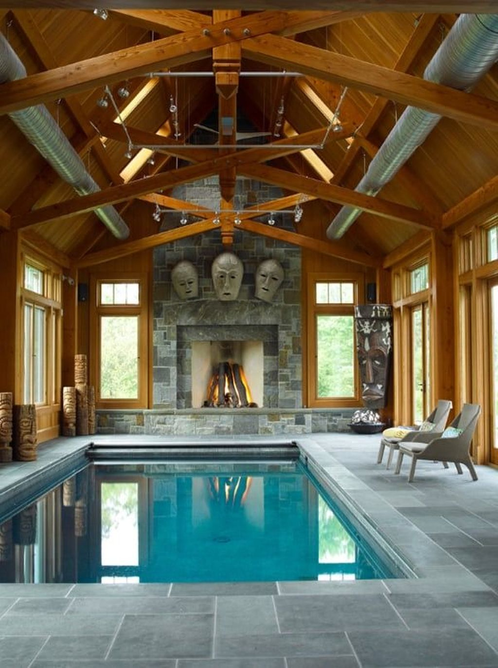 Beautiful Modern Indoor Pool Design Ideas You Must Have 14 1