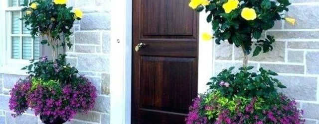 Beautiful Summer Planters Ideas For Front Door Decor 05 1