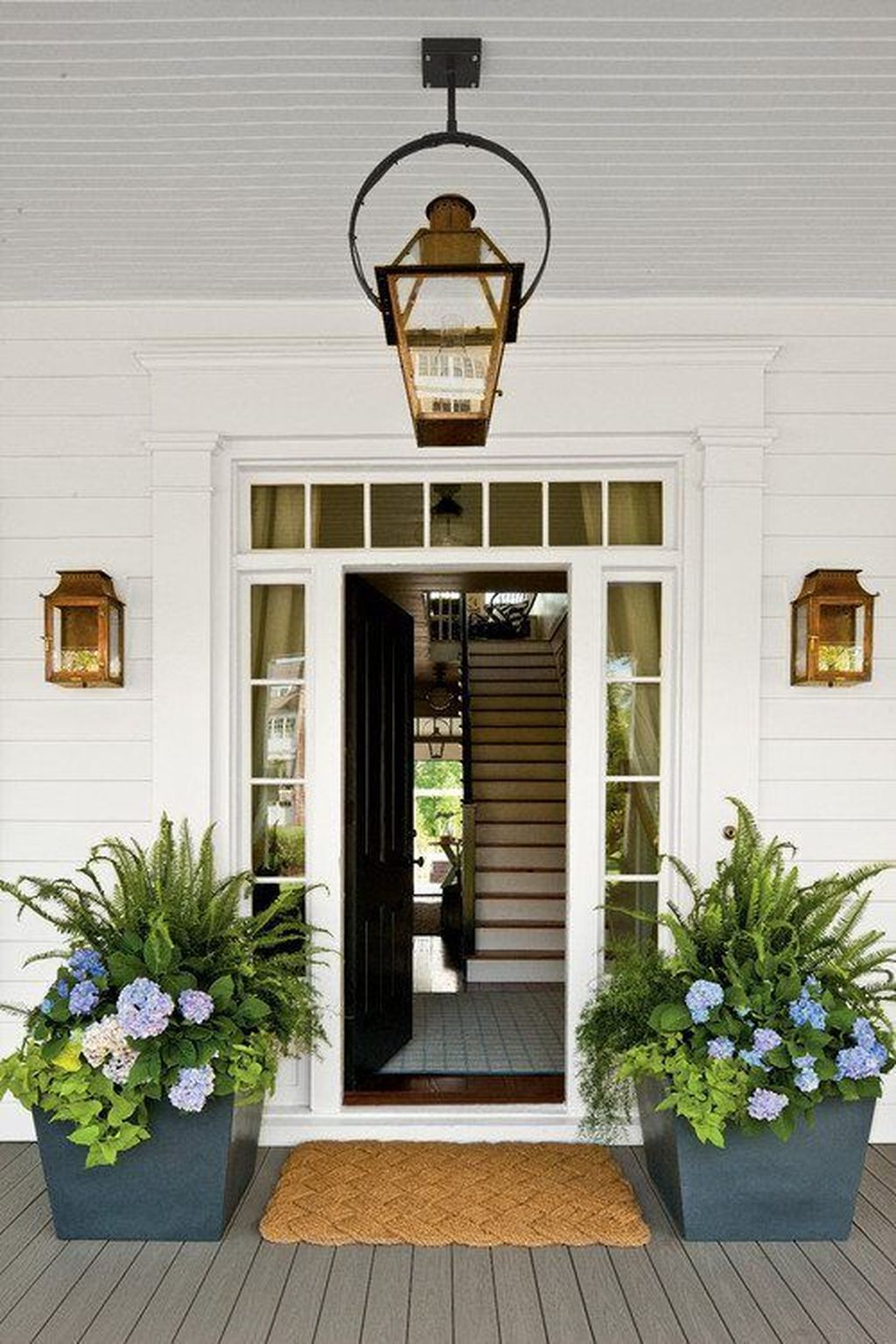 Beautiful Summer Planters Ideas For Front Door Decor 11 1