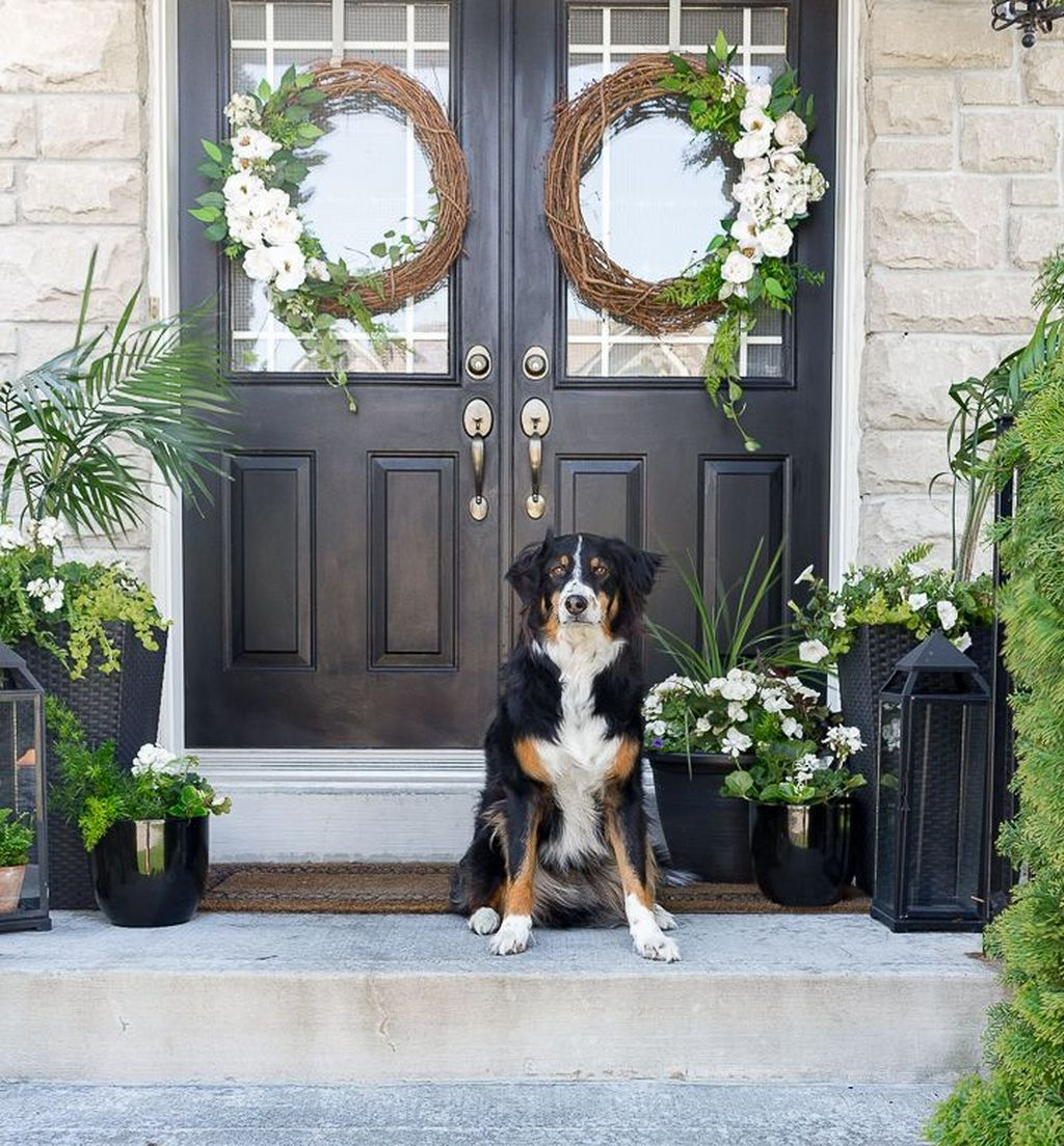 Beautiful Summer Planters Ideas For Front Door Decor 12 1