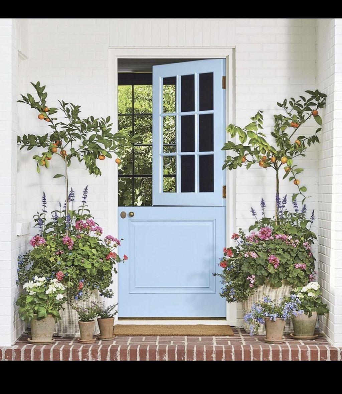 Beautiful Summer Planters Ideas For Front Door Decor 32