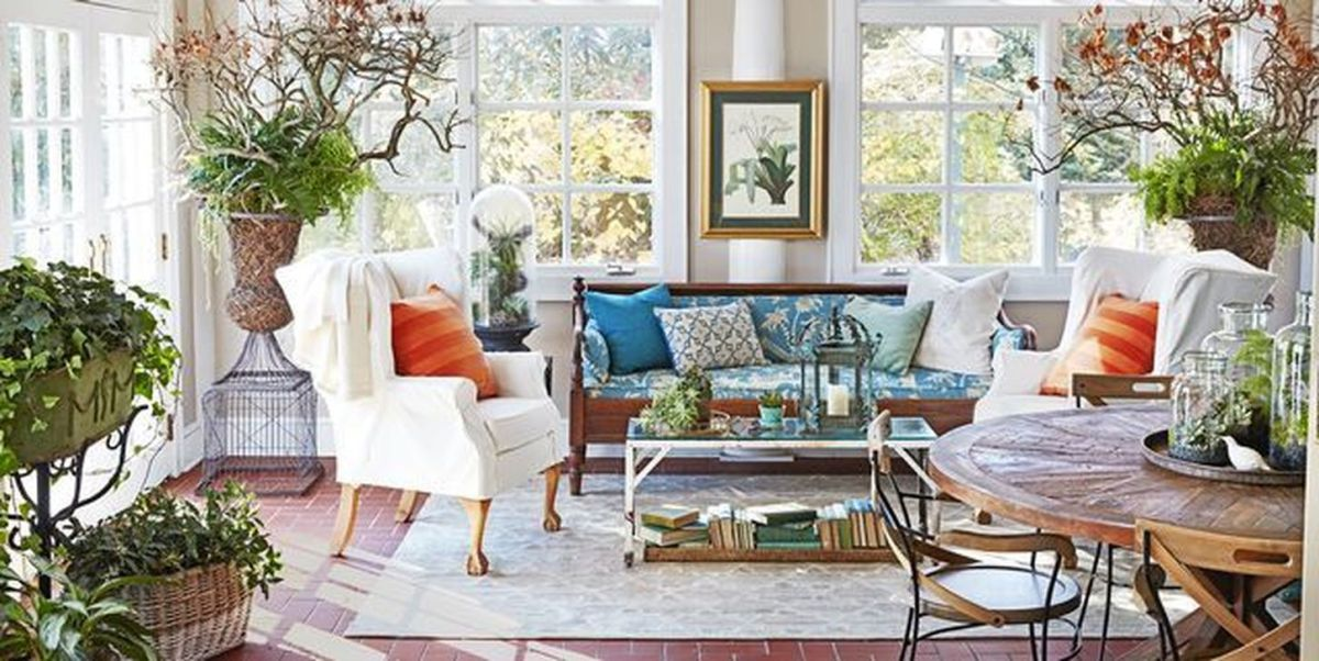 Charming Small Sunroom Decorating Ideas You Must Try 24