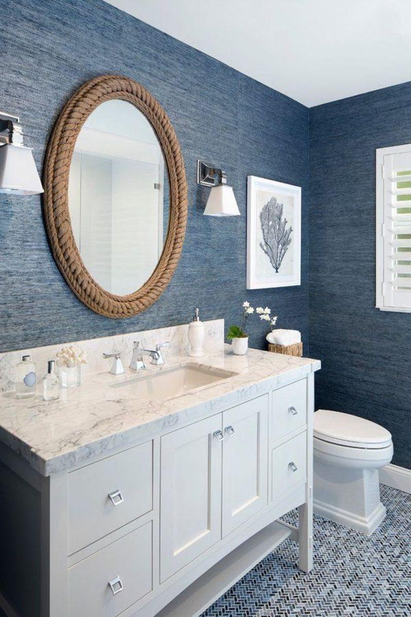 Creative Beach Theme Bathroom Decor Ideas You Will Love 07