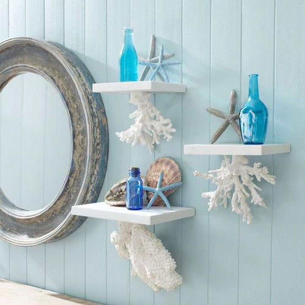 Creative Beach Theme Bathroom Decor Ideas You Will Love 22
