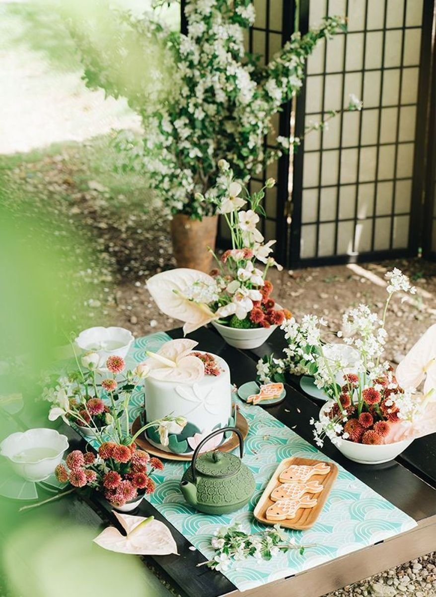 Fabulous Floral Theme Party Decor Ideas Best For Summertime 02