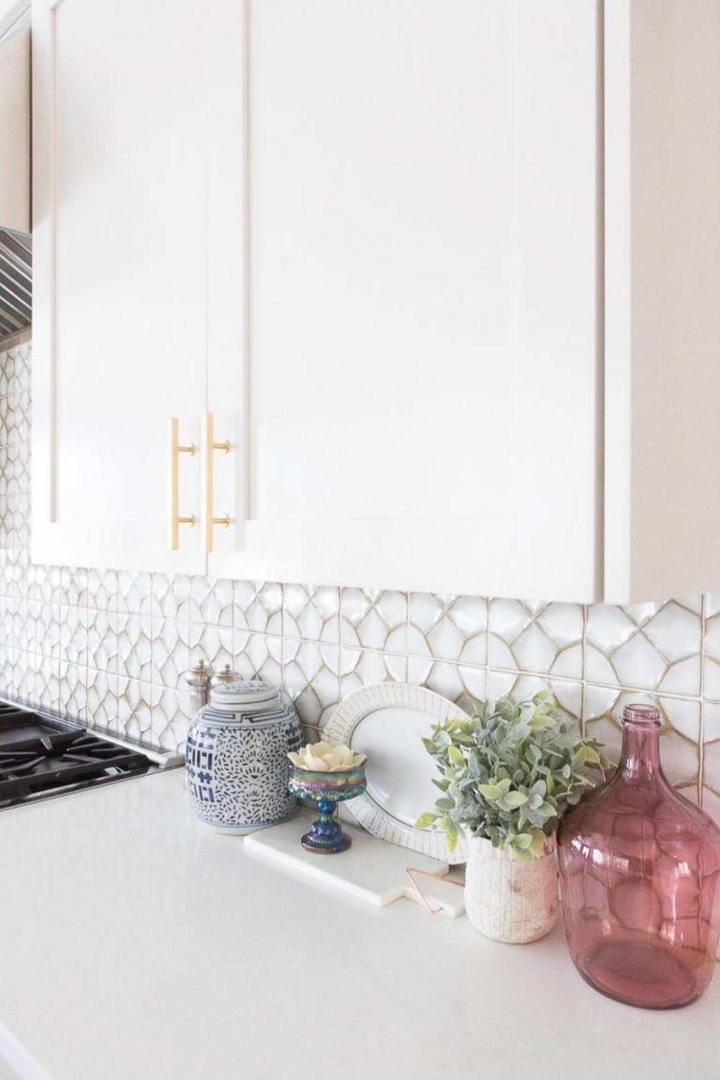 Fabulous Summer Kitchen Backsplash Ideas 12