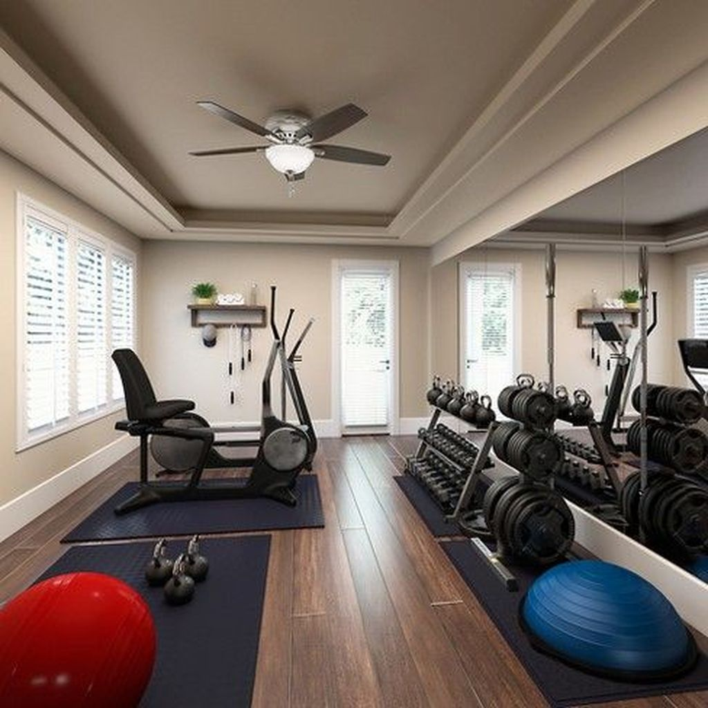Gorgeous Home Gym Design Ideas Keep You Healthy 02