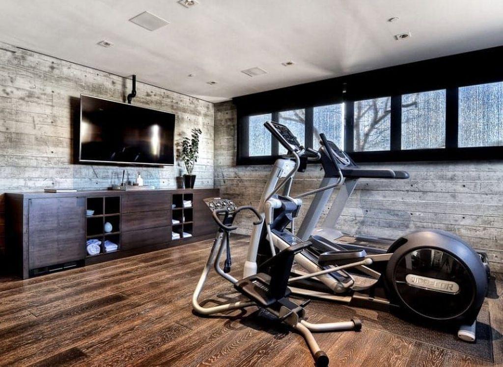 Gorgeous Home Gym Design Ideas Keep You Healthy 06