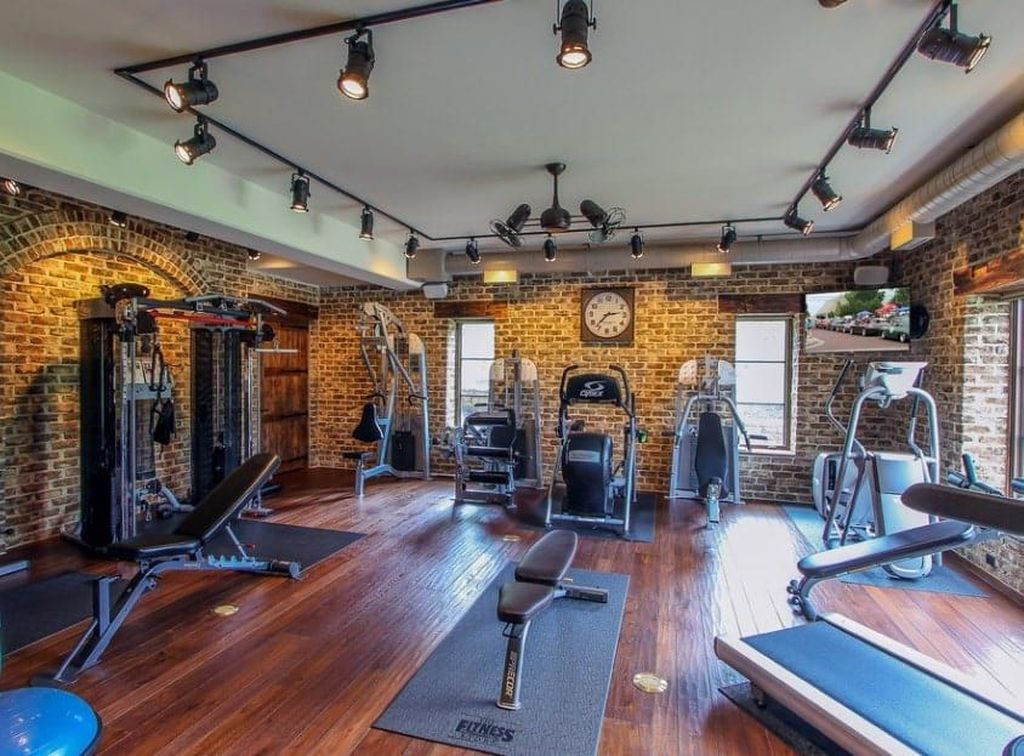 Gorgeous Home Gym Design Ideas Keep You Healthy 07