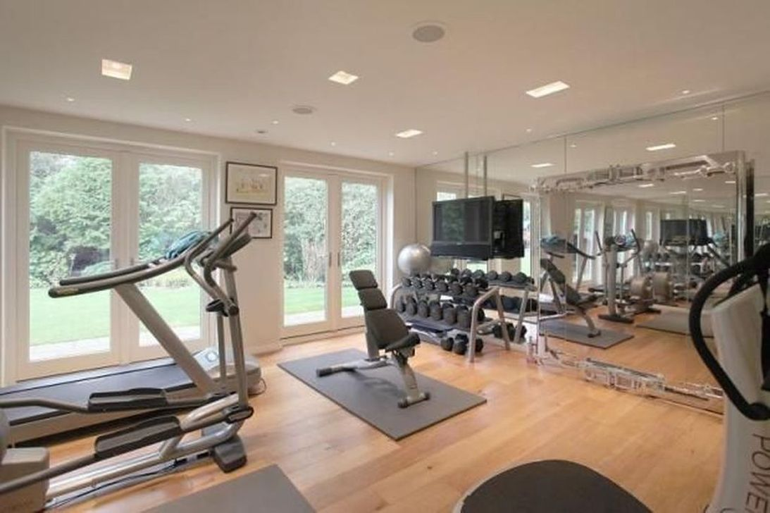 Gorgeous Home Gym Design Ideas Keep You Healthy 09