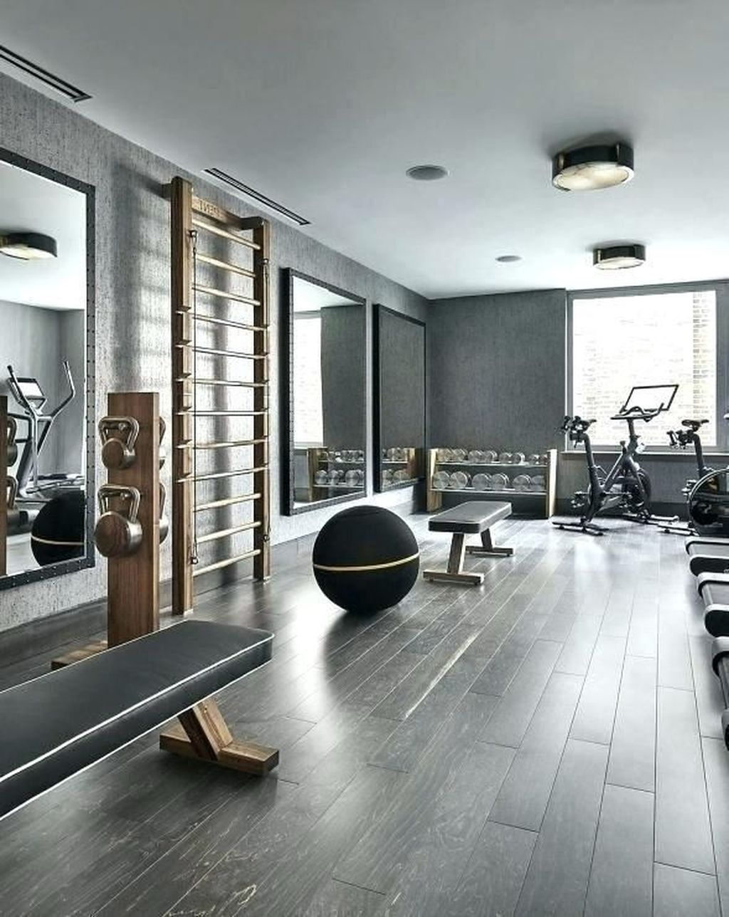 Gorgeous Home Gym Design Ideas Keep You Healthy 23