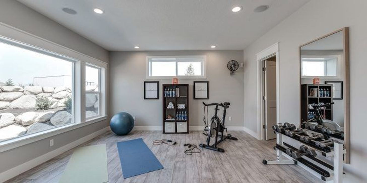 Gorgeous Home Gym Design Ideas Keep You Healthy 31