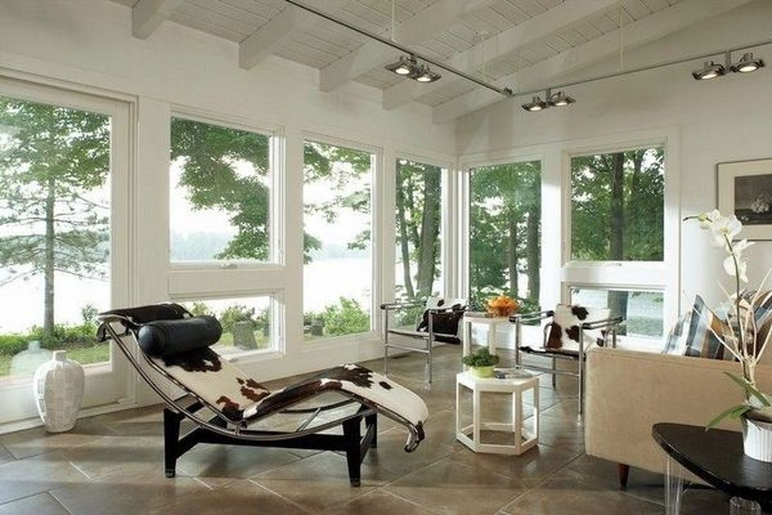 Gorgeous Modern Sunroom Design Ideas To Relax In The Summer 12