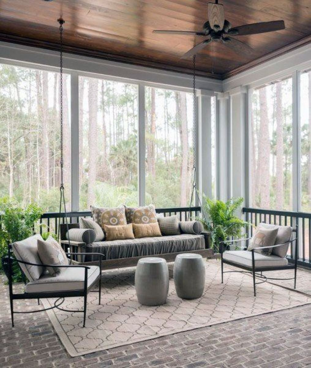 Gorgeous Modern Sunroom Design Ideas To Relax In The Summer 18