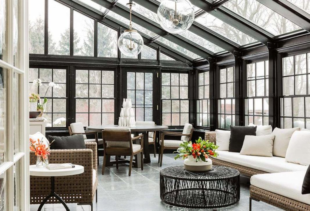 Gorgeous Modern Sunroom Design Ideas To Relax In The Summer 19