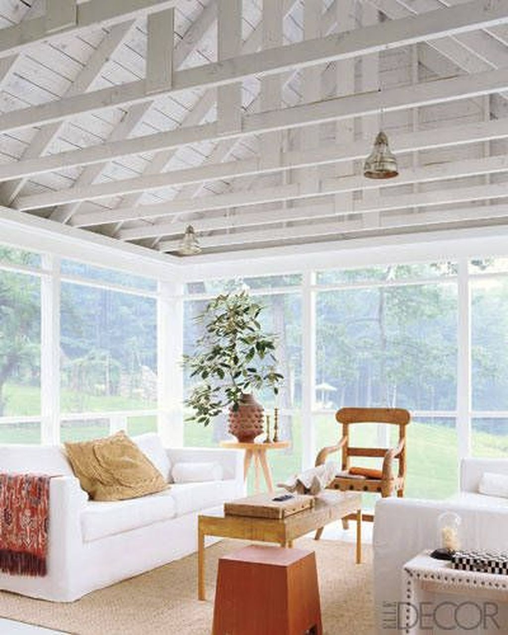 Gorgeous Modern Sunroom Design Ideas To Relax In The Summer 29