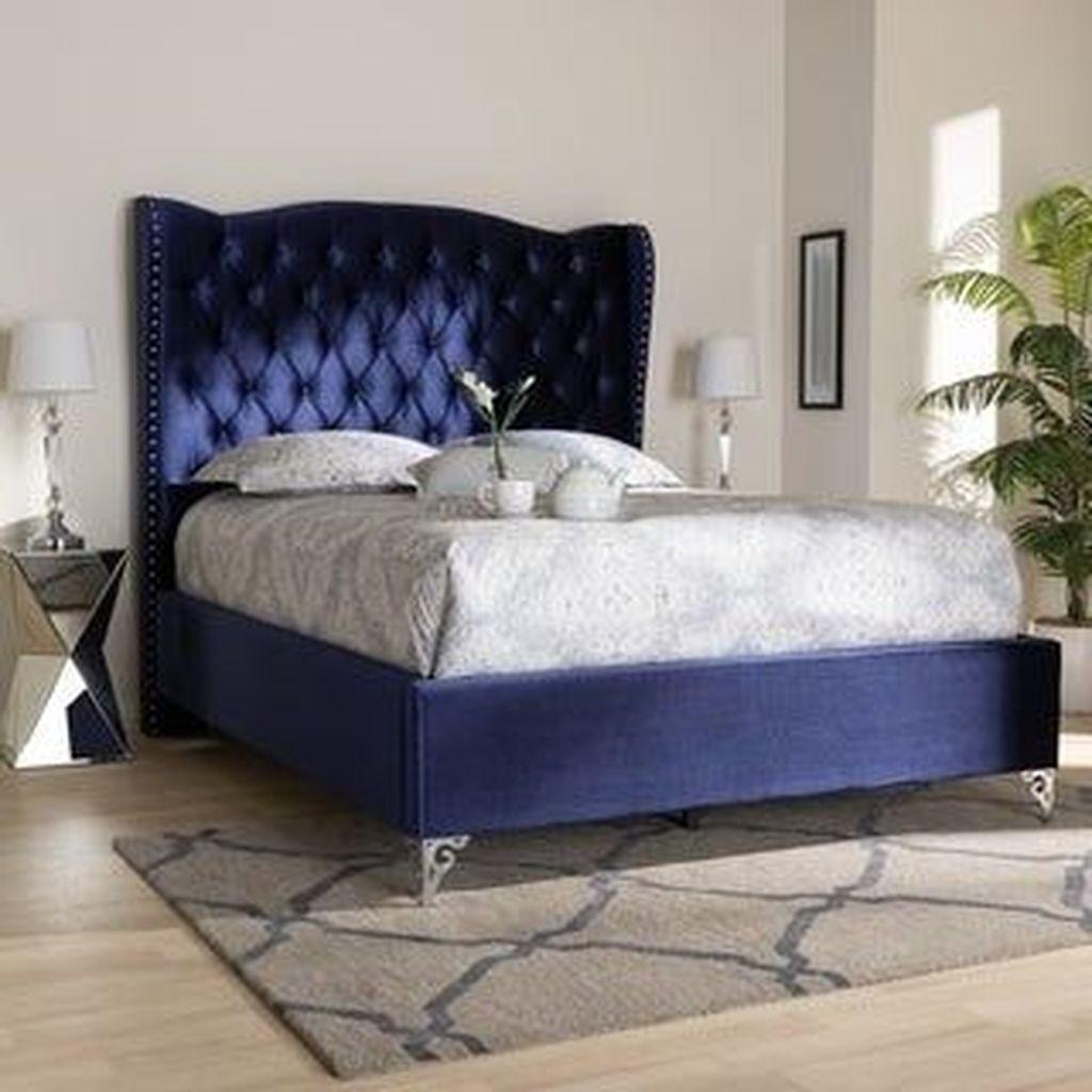 Inspiring Navy Blue Bedroom Decor Ideas You Should Copy 18