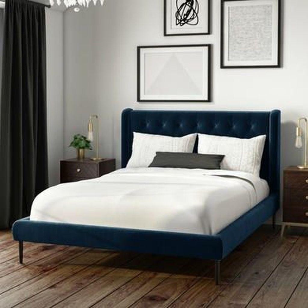 Inspiring Navy Blue Bedroom Decor Ideas You Should Copy 21