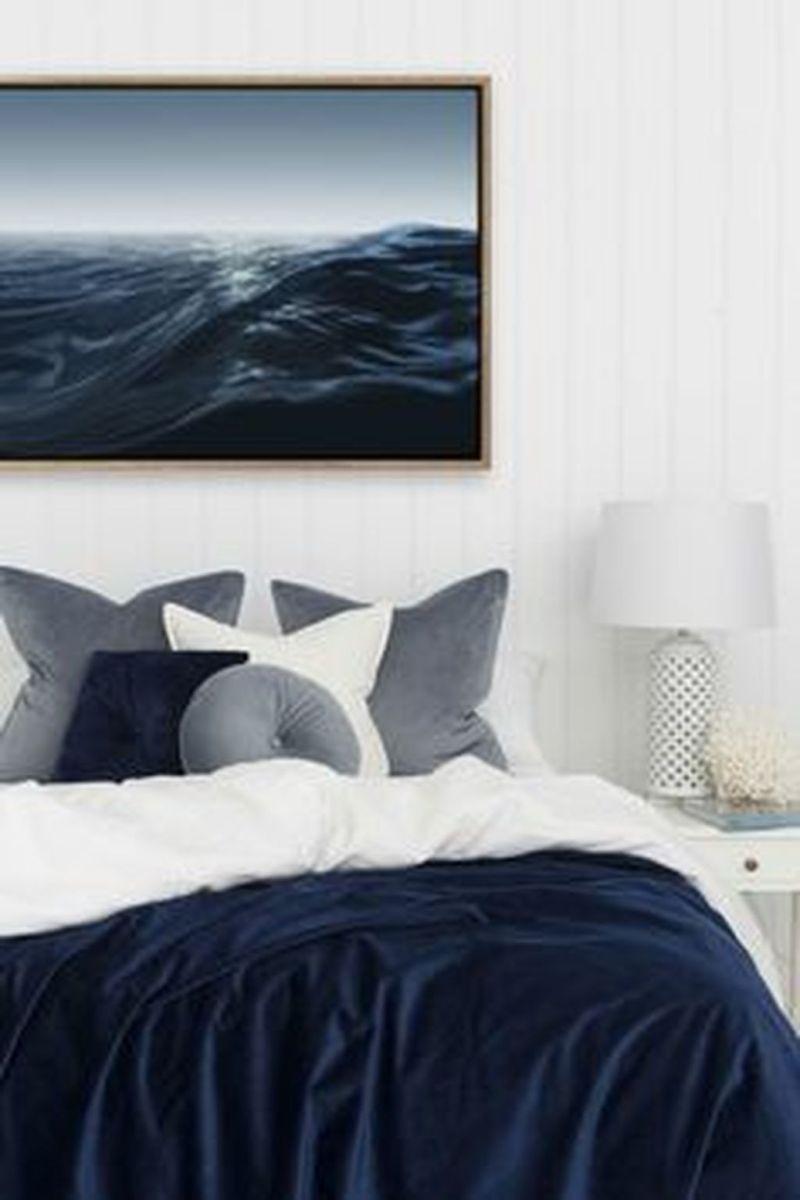 Inspiring Navy Blue Bedroom Decor Ideas You Should Copy 30