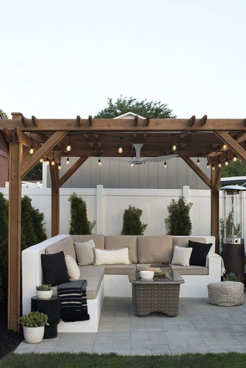 Inspiring Pergola Patio Design Ideas For Your Backyard Decor 18