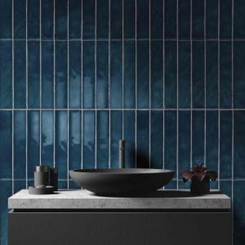 Nice Blue Color Bathroom Decor Ideas 20