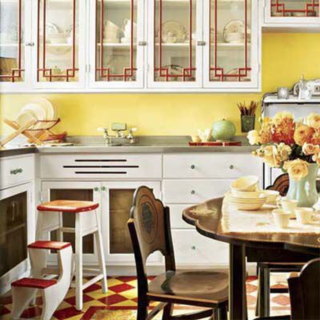Nice Yellow Kitchen Decor Ideas For This Summer 05